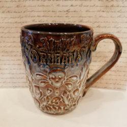 Skull Pottery Mug